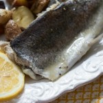 Poached Rainbow Trout with Butter Pan Sauce ~ Lydia's Flexitarian Kitchen