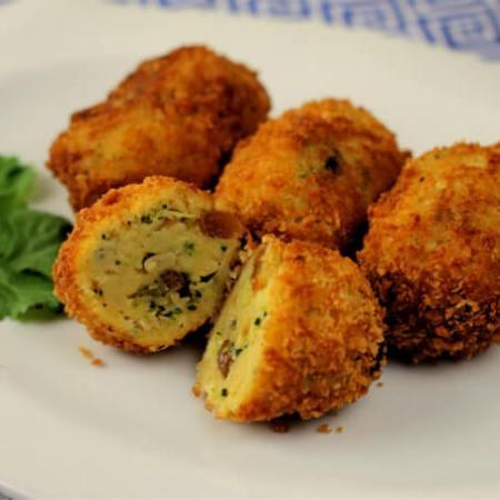 Broccoli and Raisin Croquetas ~ Lydia's Flexitarian Kitchen