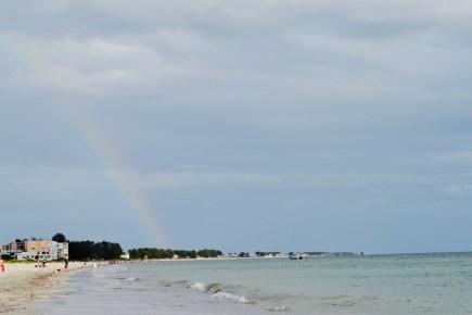 Notice the rainbow!