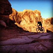 My little brother getting rad in Moab