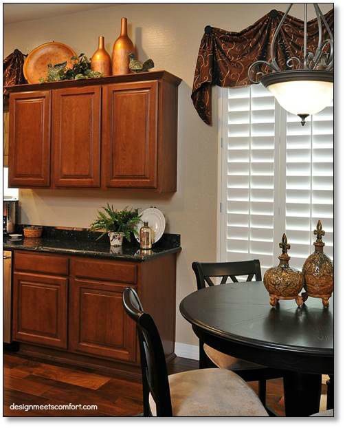 Kitchen Cabinet Accents: My Kitchen (Almost) Makeover