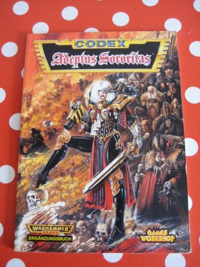 Codex: Adeptus Sororitas aus dem Jahr 1997