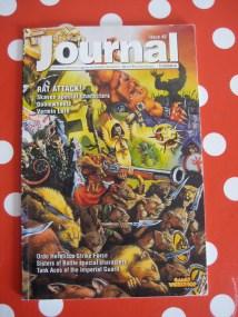 Das Citadel Journal mit der ersten Ordo Hereticus Armeeliste aus dem Jahr 2002