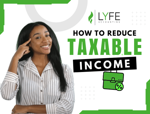 how to reduce taxable income