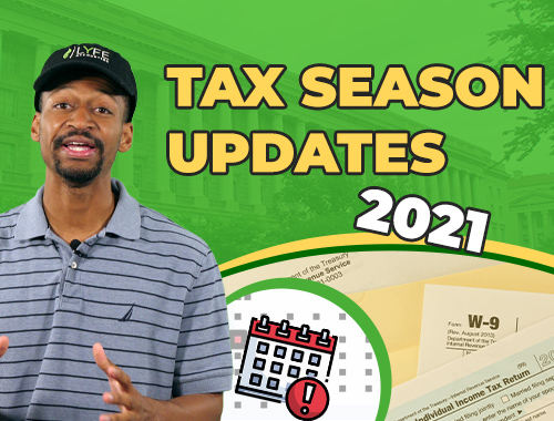 tax season 2021 new update