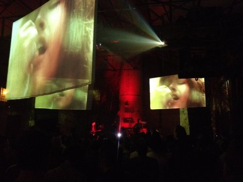 Live visuals by Jacco Gardner at the Liverpool International Festival Of Psychedelia.