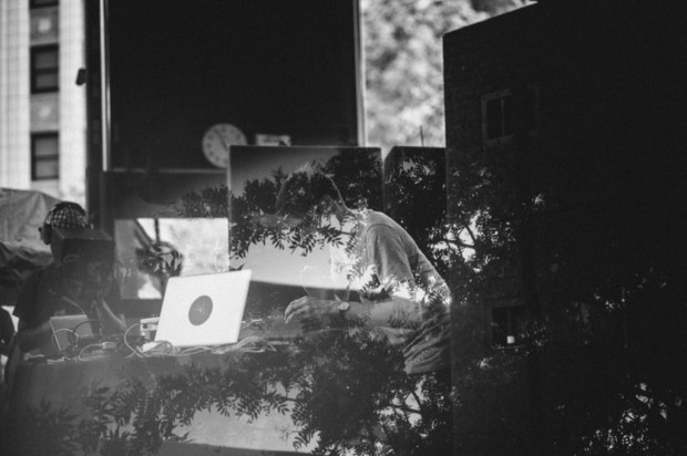 Jon Hopkins at Pitchfork Music Festival 2014 - Photo by Kristina Pederson