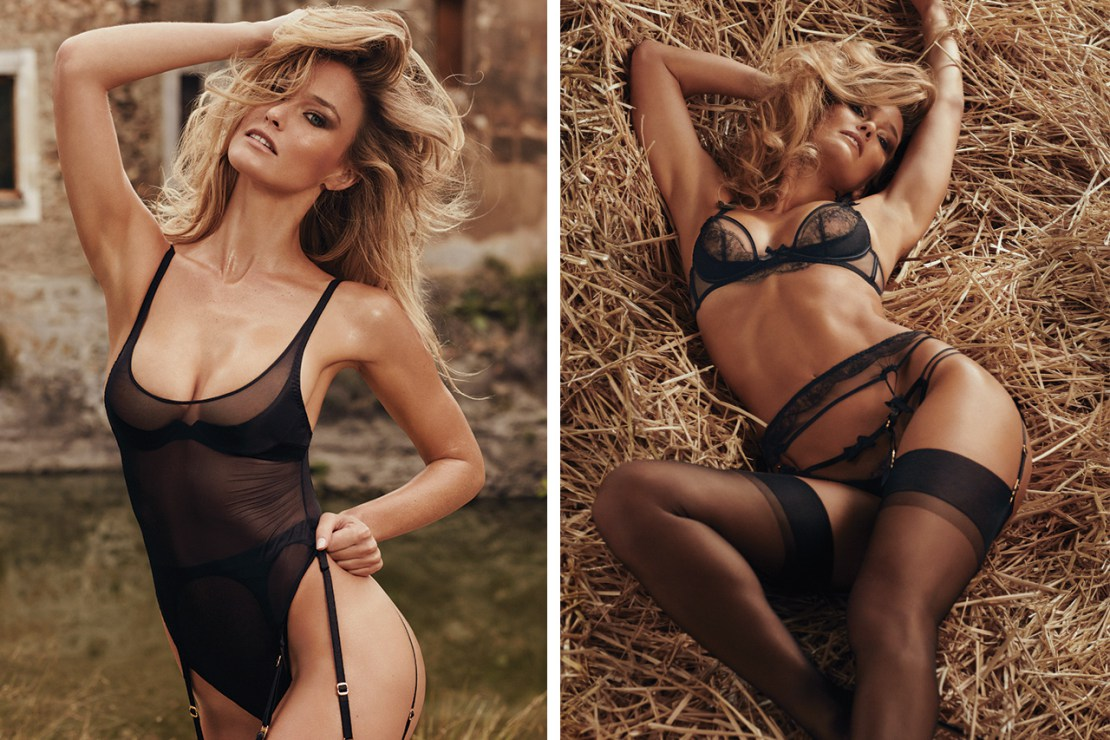 Bar Refaeli Stuns in Agent Provocateur's Latest Campaign