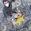 Three Men Climb 28th Tallest Tower In The World