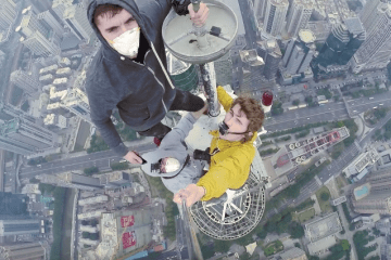 Three Men Climb 28th Tallest Tower In The World