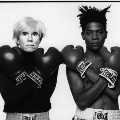 Andy Warhol & Jean-Michel Basquiat by Michael Halsband LYFSTYL