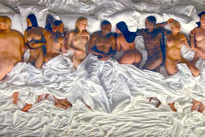 Kanye West famous