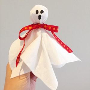 Halloween spøgelse
