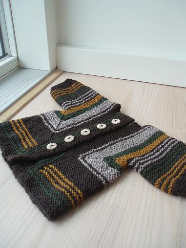 Sock yarn BSJ - front view