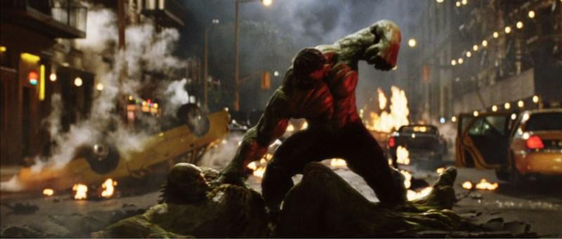 The Incredible Hulk - Abomination vs Hulk