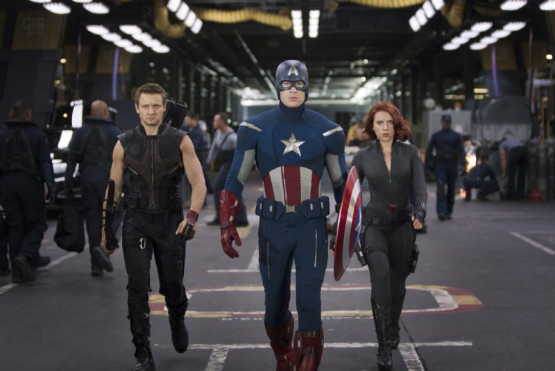 marvel's the avengers hawkeye-captain-america-and-black-widow