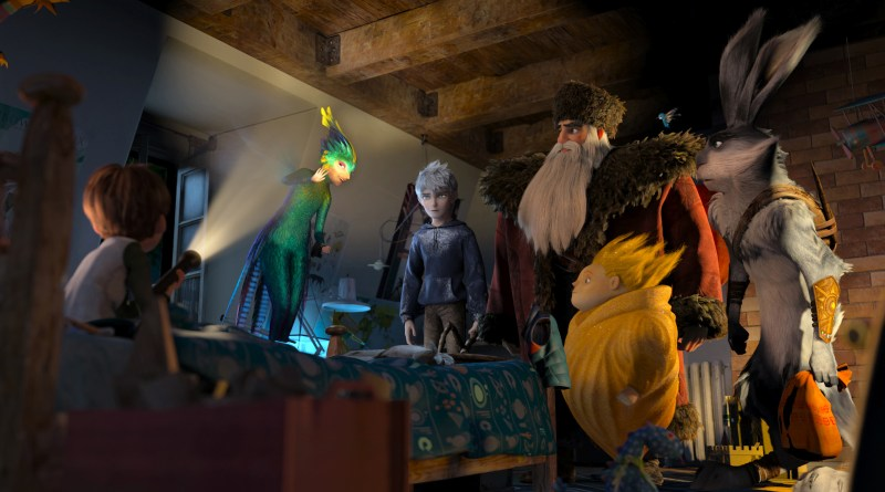 Rise of the Guardians Tooth Fairy, Jack Frost, Santa Claus, Sandman and Easter Bunny