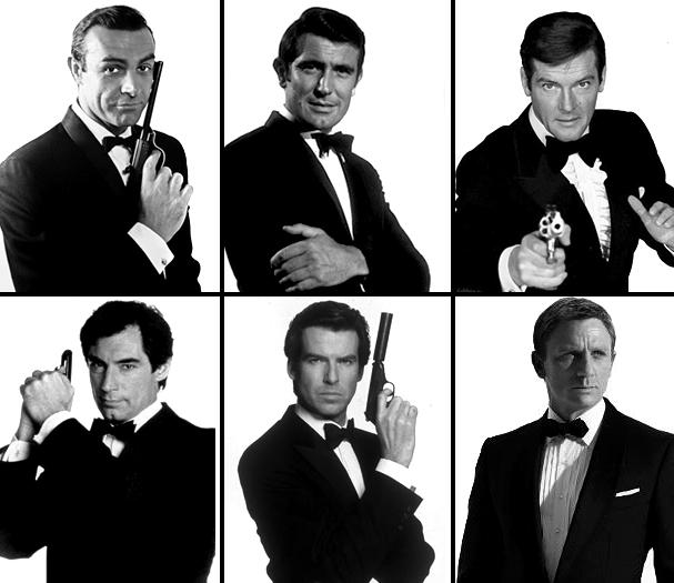 Bond 50 collage