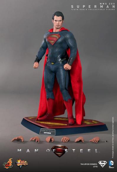 Hot Toys Man of Steel Superman accessories