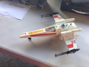 Star Wars Night - X-wing toy