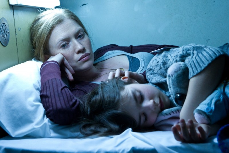 Jaap Buitendijk/Paramount Pictures Mireille Enos is Karin Lane and Sterling Jerins is Constance Lane.