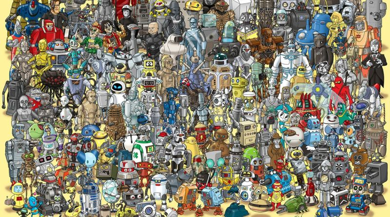 10 top pop culture robots