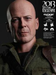 Hot Toys GI Joe Retaliation Joe Colton headshot