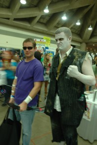 Baltimore Comic Con 2013 - Hawkeye and Solomon Grundy