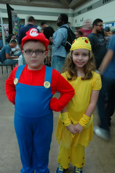 Baltimore Comic Con 2013 - Mario and Pikichu