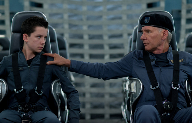 Enders-Game-review-Asa-Butterfield-and-Harrison-Ford