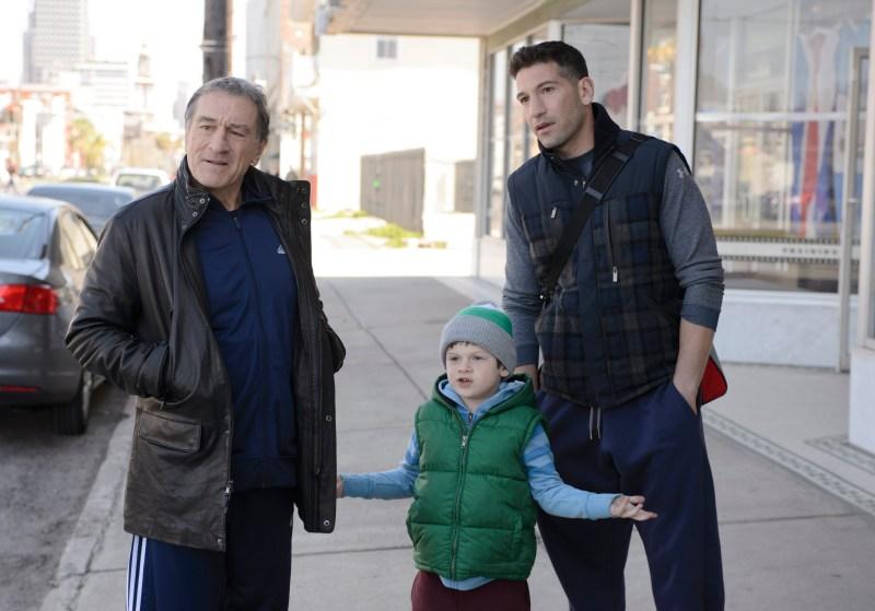 """Ben Rothstein/Warner Bros. Pictures Billy """"The Kid"""" McDonnen (Robert De Niro), Trey (Camden Gray) and BJ (Jon Bernthal)"""