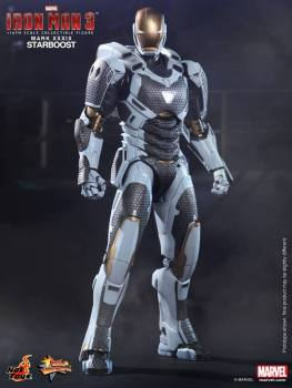Hot Toys Iron Man 3 Starboost figure - standing straight