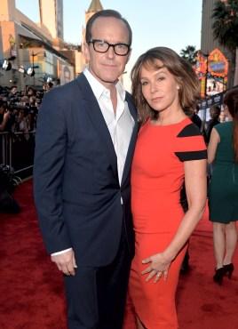 Alberto E. Rodriguez/Getty Images Clark Gregg (L) and Jennifer Grey
