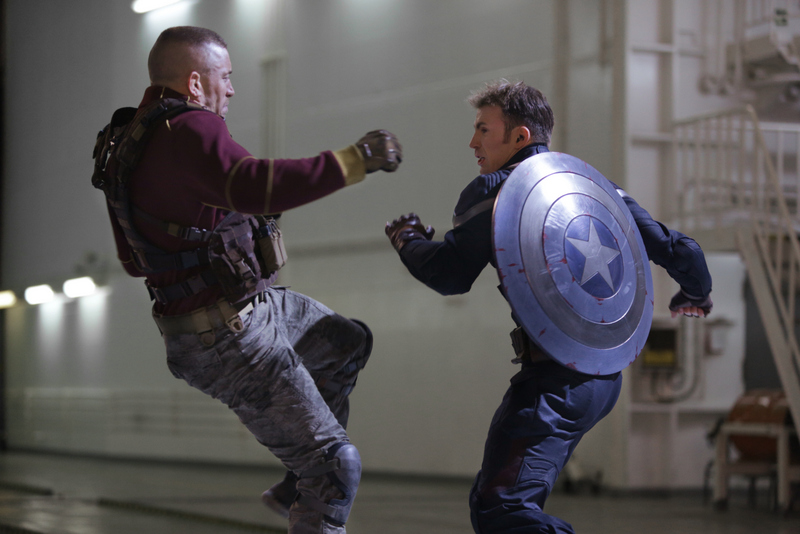Captain America - The Winter Solider -- Batroc vs Captain America movie