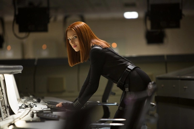 Captain America - The Winter Solider -- Scarlett Johansson as Black Widow
