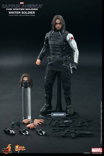 Hot Toys Captain America The Winter Soldier - Winter Soldier accessories