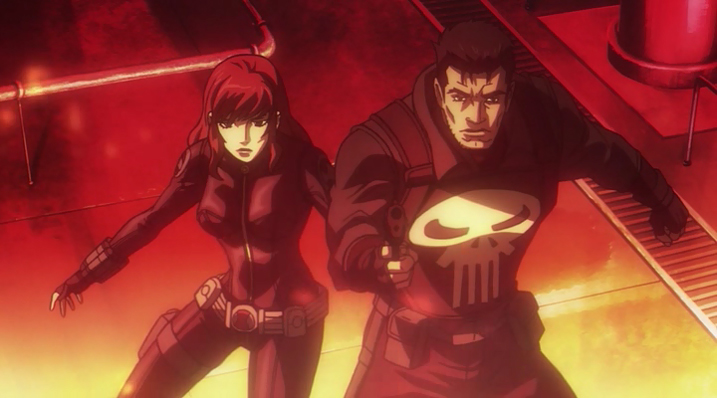 Avengers Confidential Black Widow and Punisher - Black Widow and Punisher