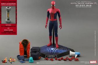 Hot Toys The Amazing Spider-Man 2 - Spidey accessories