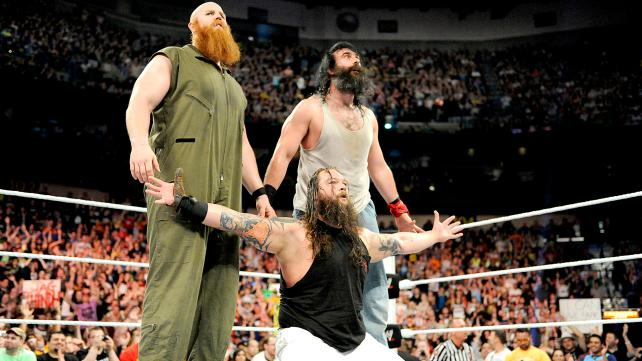 wwe raw - the Wyatt Family