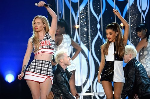 2014 billboard awards iggy-azalea and ariana-grande-2014-billboard-music-awards-performance-650