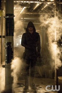 Cate Cameron/The CW Stephen Amell as The Arrow