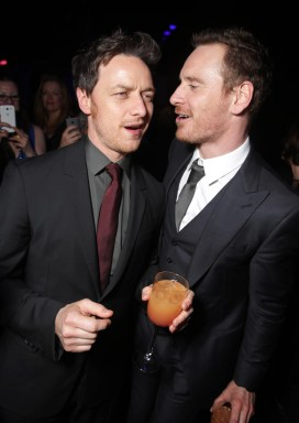 James McAvoy, Michael Fassbender