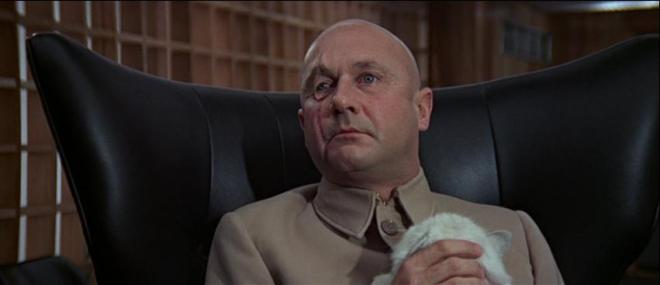 you only live twice = blofeld - donald pleasance