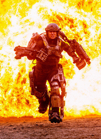 Edge of Tomorrow Tom Cruise stars as William Cage.
