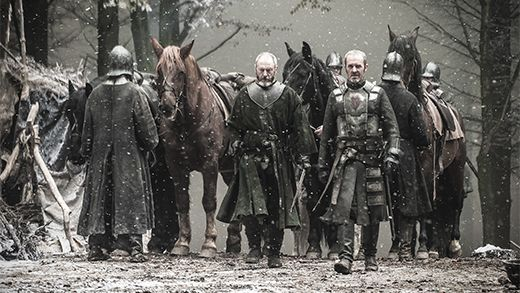 Game of Thrones - season 4 episode 10 - Ser Davos and Stannis