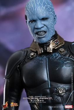 Hot Toys The Amazing Spider-Man 2 - Electro snarling