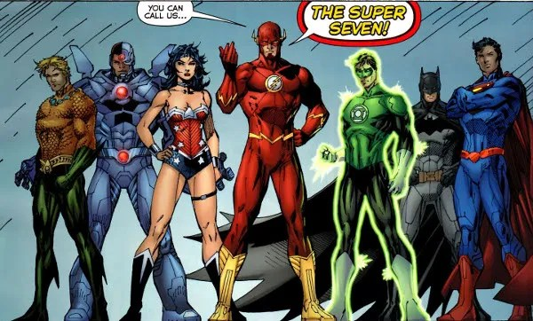 Justice League2 the seven New 52