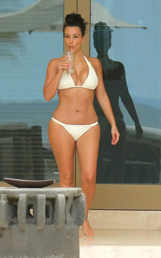 Kim Kardashian bikini