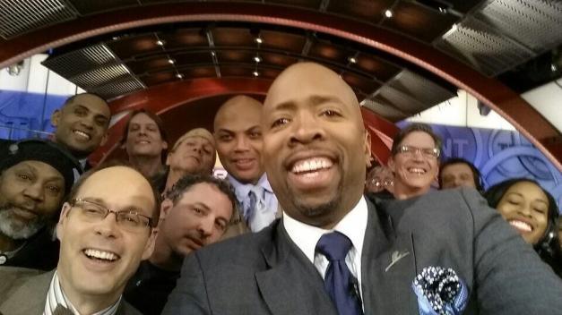 NBA on TNT team Oscar Selfie