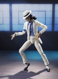 SH Figuarts Michael Jackson - Smooth Criminal figure dancing